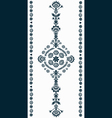 Polish Embroidery Pattern vector image