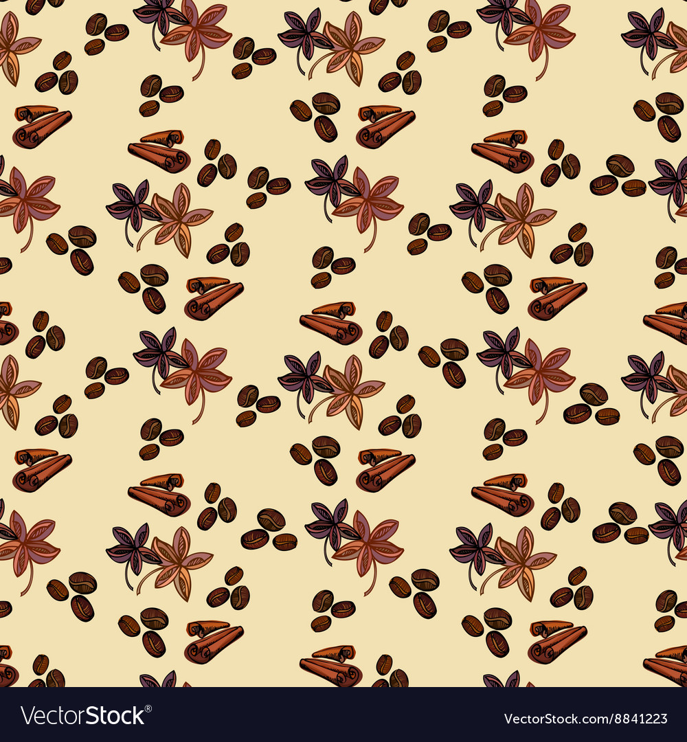 Spaises eamless pattern vector