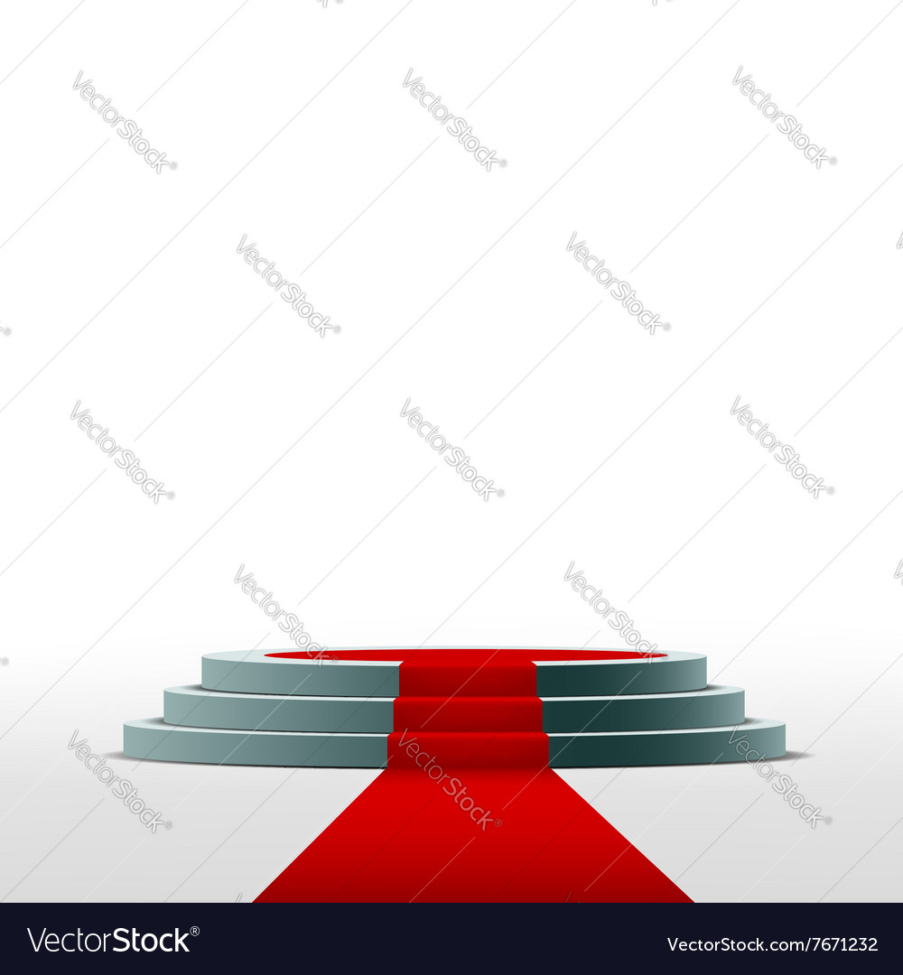 Podium stock vector
