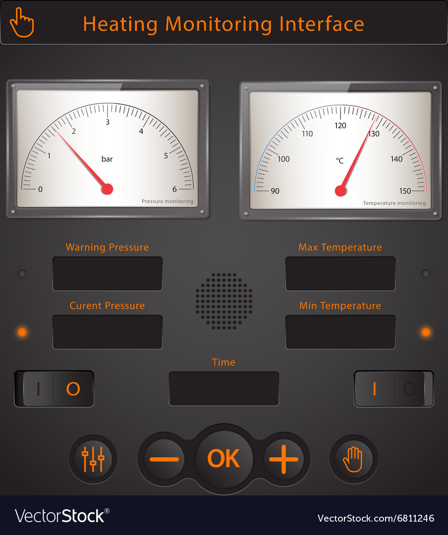 Heating interface vector