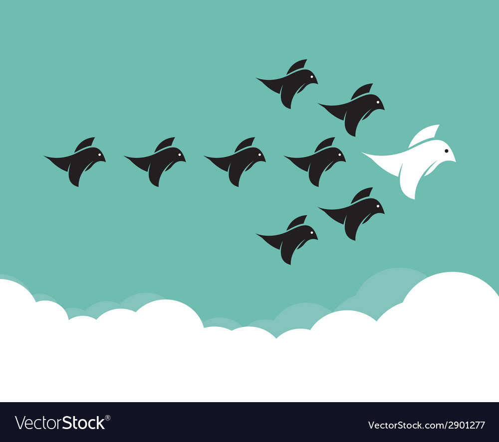 Bird leadership vector