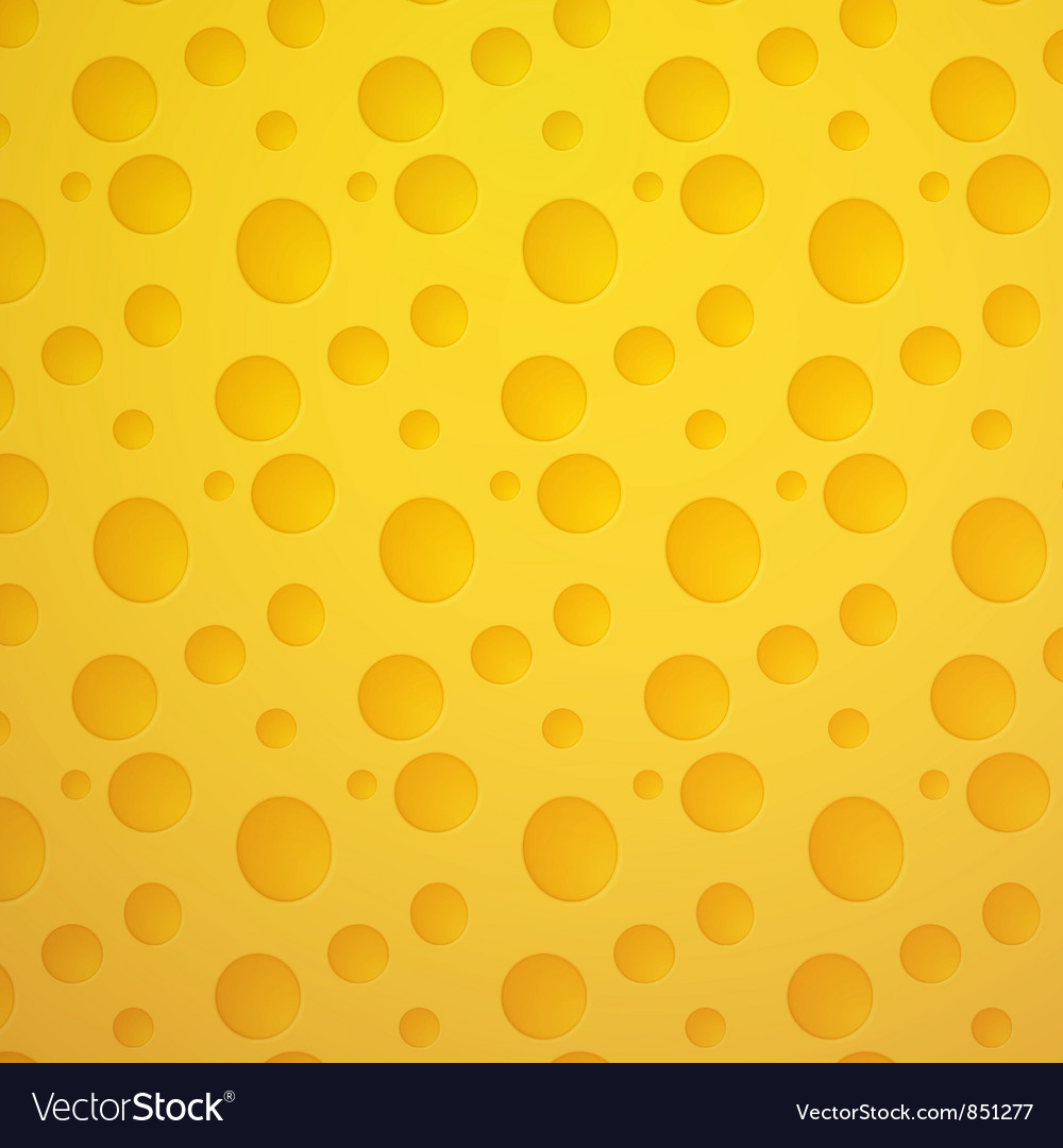 Cheese seamless pattern vector