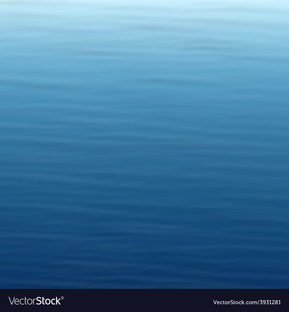 Wavy water background vector