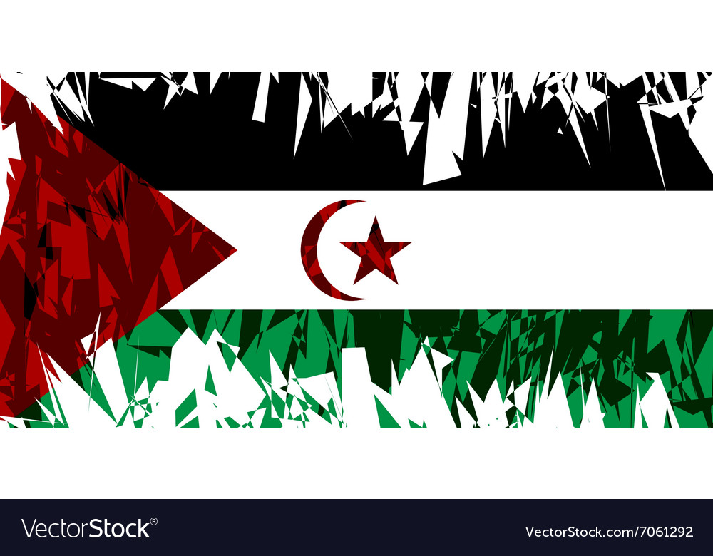 Sahrawi arab democratic republic vector