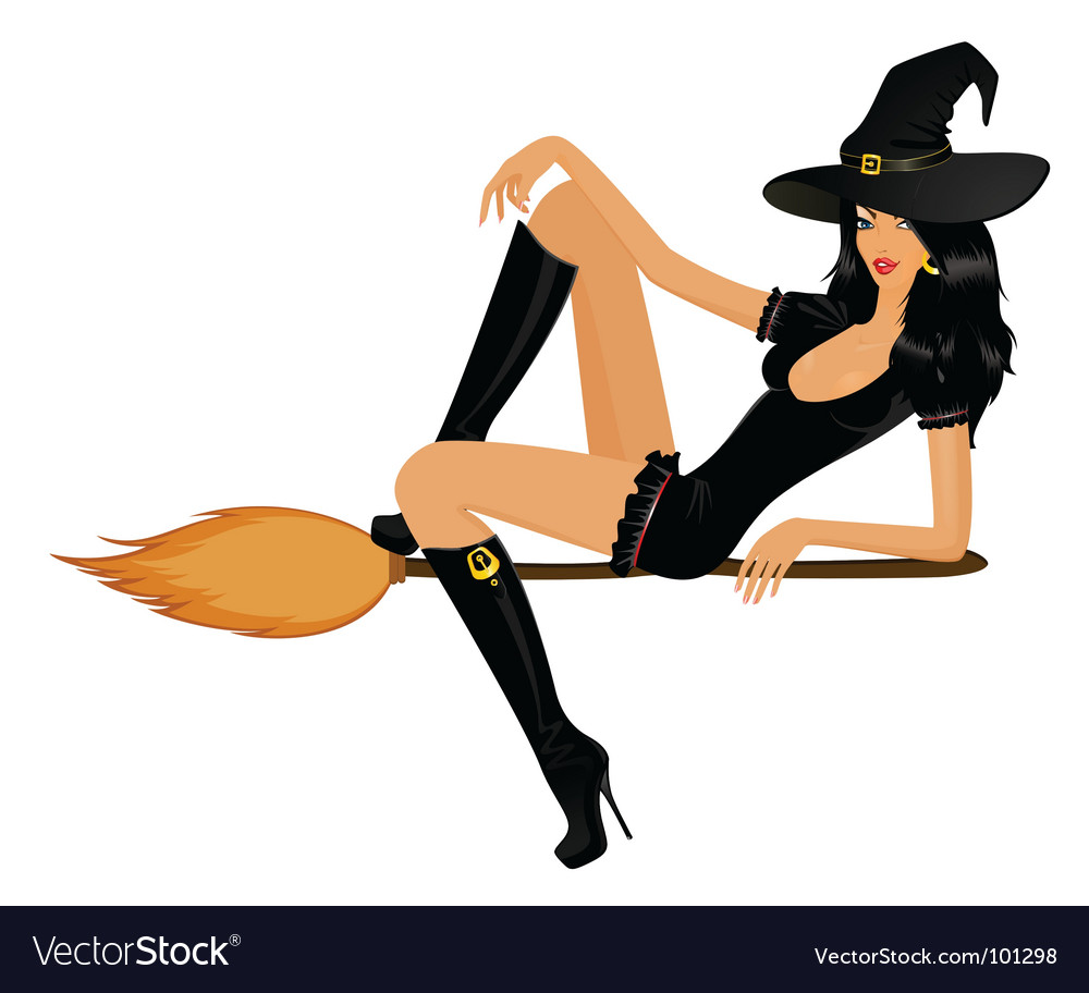 Wicked witch vector
