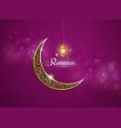 ramadan kareem ramadhan vector image