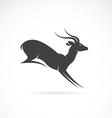 image of deer design vector image