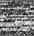 abstract background with geometry black and white vector image
