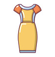 dress icon cartoon style vector image