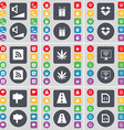 Volume Gift Dropbox RSS Marijuana Monitor Signpost vector image