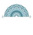 Floral oriental pattern vector image