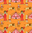 Sketch circus in vintage style vector image
