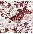 valentine repeating pattern vector image