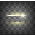 Lighting flare special effect vector image
