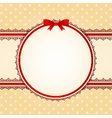 lace ornaments on background vector image vector image