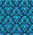 damask wallpaper pattern vector image vector image