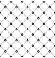 Seamless simple pattern with Christmas ball vector image
