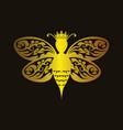 queen bee vector image
