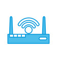 wifi internet symbol vector image