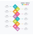 infographic design 10 options vector image
