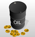 Sale of petroleum products vector image vector image