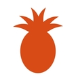 pineapple fruit health icon vector image