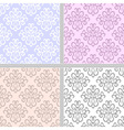 Pastel ethnic seamless pattern vector image