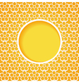 yellow background vector image