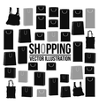 Shopping design Shopping bag icon sale concept vector image