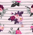 beautiful seamless pattern with half-colored vector image