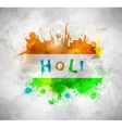 Holi background vector image vector image