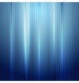 Bright blue abstract perforated texture vector image