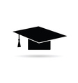 cap for graduates vector image