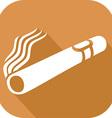 Cuban Cigar Icon vector image