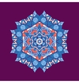 mandala ornament with space for your text image vector image