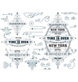 Set of elements and banners vector image vector image
