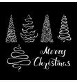 Christmas Tree Set 2 vector image