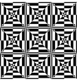 op art seamless design vector image