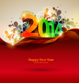 Happy new year 2014 vector image