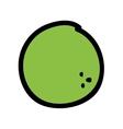 lemon fresh fruit drawing icon vector image