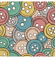 colored buttons seamless pattern vector image vector image