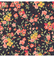 floral seamles vector image