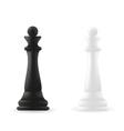 Queen chess piece vector image