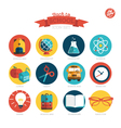 Assorted icons design vector image