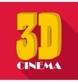 Cinema icon flat style vector image