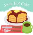 hotcake vector image