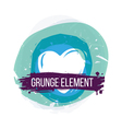 Heart Grunge Background vector image