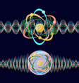 atom as a particle and wave vector image
