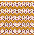 Seamless colorful aztec pattern zigzag vector image