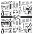 Beauty Paper Pattern vector image